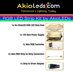 AkioLED RGB LED Strip Kit