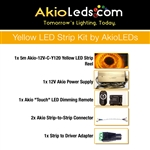 AkioLED Yellow LED Strip Kit