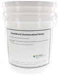 Demineralized Water - 5 and/or 55 Gallons