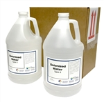 DeIonized Water (Type II) - 2x1 Gallons