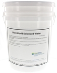 DeIonized Water (Type II) - 5 Gallons