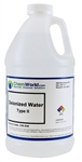 DeIonized Water (Type II) - 64 oz