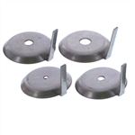 "Boiler Orifice Plates for 1/2"" and 3/4"" NPT Unions"