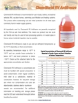 Chemworld RV Antifreeze Product Bulletin