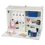 Chemical Testing Cabinet with Horizontal Door (Metal)