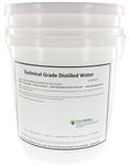 Distilled Water (Technical Grade) - 5 Gallons