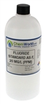 Fluoride Standard as F, 20 mg/L (ppm)