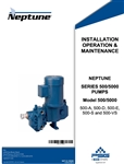 IOM Neptune Series 500/5000 Pumps