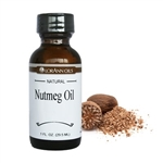 Nutmeg Oil, Natural - 4 oz