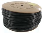 "3/8"" Diameter - 1000' UV Black Chemical Tubing"