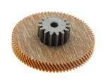 Stenner Pump Phenolic Gear with Spacer 44 RPM for 85 & 170 Series