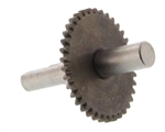 Stenner Pump Motor Shaft with Gear for Adjustable Pump