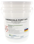 pH and alkalinity adjuster for Paint Booths
