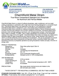 ChemWorld METAL XTREM Technical Information