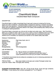 ChemWorld PAINT MASK Technical Information
