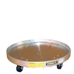 Aluminum 30 and 55 Gallon Drum Dollies