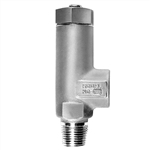 "1/2"" SSTL Pressure Relief Valves - up to 2000 psi"