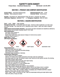 ChemWorld Residual Zero SDS