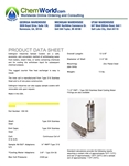 Sample Cooler Product Data Sheet
