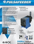 Tech Sheet PulsaTron Series HV