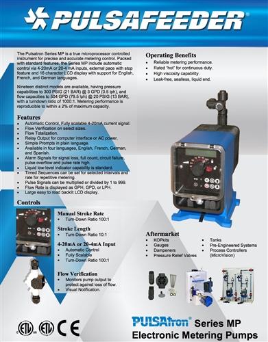 Tech Sheet PulsaTron Series MP