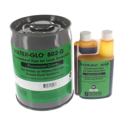 ca29b0e22af837 Green Water Leak Detection Fluid - Spectroline WATER-GLO-802