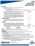Neptune Sample Cooler Instruction Sheet