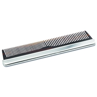 Sterling Silver backed Comb with Imitation Tortoise Shell
