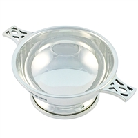 Solid Sterling Silver Quaich Dish