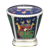 Noahs Ark  Money Box Fine English Bone China
