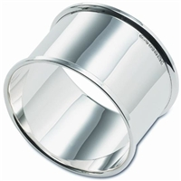 Sterling Silver Napkin Ring. Plain and Simple Design