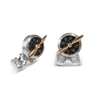 Sopwith Propeller Cufflinks by Deakin & Francis