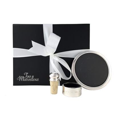 The Silver Service Wine Lovers Gift Box