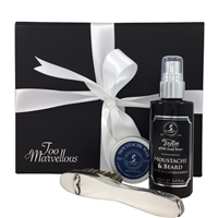 The Bearded Gent' Moustache & Beard Care Gift Set