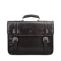 The Eton Leather Backpack Satchel Style Briefcase