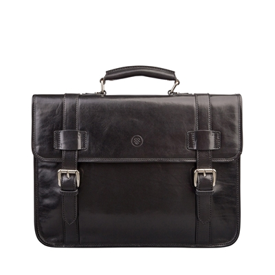 Micheli Leather Backpack Briefcase