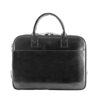 The Calvino Leather Macbook / Laptop Business Briefcase Bag