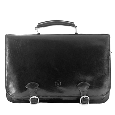 The Jesolo 3 Pocket Satchel Bag Briefcase