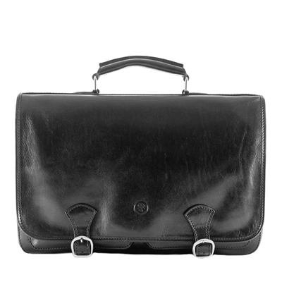 The Jesolo 2 Pocket Satchel Bag Style Briefcase