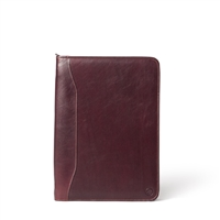 The Dimaro Zipped  Leather Document Holder