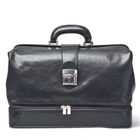 The Donnini Large Italian Leather Doctor's Bag