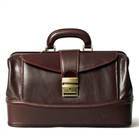 The Donnini Small Italian Leather Doctor's Bag