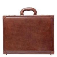 The Scanno Slimline Leather Attaché Case