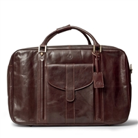 The Maurizio Large Italian Leather Suitcase