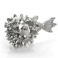 Pewter Puffer Fish Wine Aerator by Royal Selangor