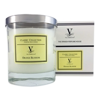 Classic Scented Candle - Orange Blossom Fragrance by Vila Hermanos