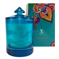 Gemmology Collection Aquamarine Fragranced Candle Myanmar by Vila Hermanos