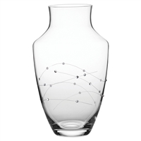 Diamante Swarovski Crystal Large Urn Style Vase by Royal Scot Crystal