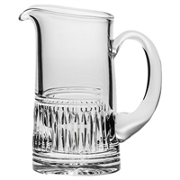 Crystal Art Deco Design Water for Whisky Jug by Royal Scot Crystal