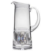 Crystal Art Deco Design Two Pint Water or Juice Jug by Royal Scot Crystal